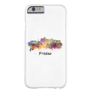 Fresno V2 skyline in watercolor Barely There iPhone 6 Case