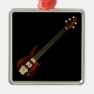 Fretless 5 String Bass Guitar Metal Ornament