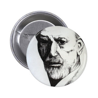 Freud 6 Cm Round Badge
