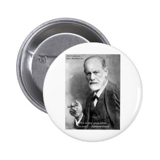 Freud Crazy Lovers Love Quote Gifts Cards Etc Buttons