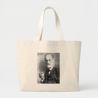 Freud Crazy Lovers Love Quote Gifts Cards Etc Large Tote Bag