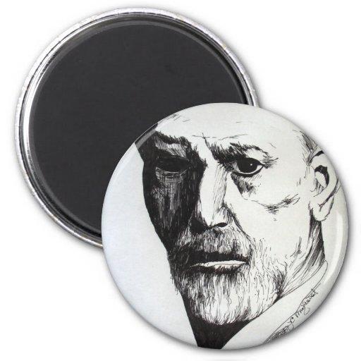 Freud Refrigerator Magnet
