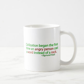 Freud on civilization mug
