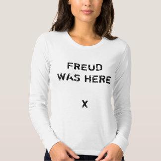 Freud Was Here Ladies' Longsleve Tees