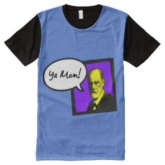 "Freud ""Your Mom"" All-Over Print T-Shirt"