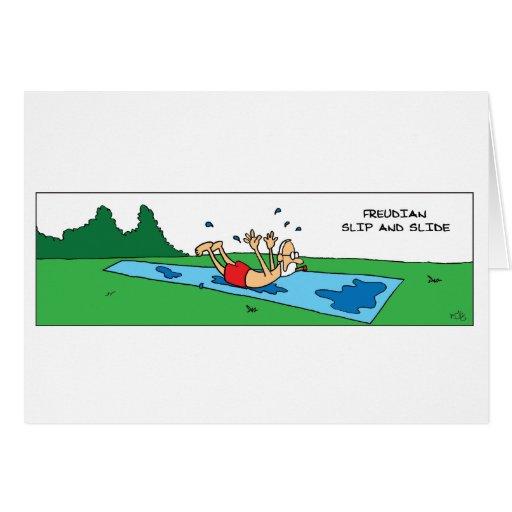Freudian Slip and Slide Card