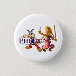 frexit binomial 3 cm round badge