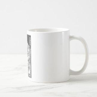 Frey seated on the throne of Odin Coffee Mug