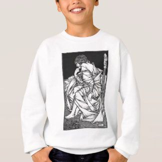 Frey seated on the throne of Odin Sweatshirt