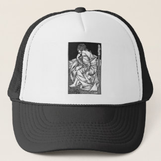 Frey seated on the throne of Odin Trucker Hat