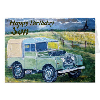 """FREYA"" ""Happy Birthday Son "", Card"