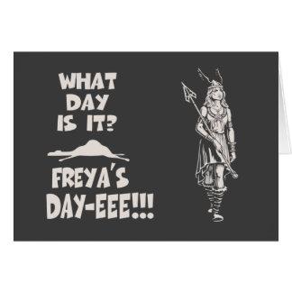 Freya's Day Card