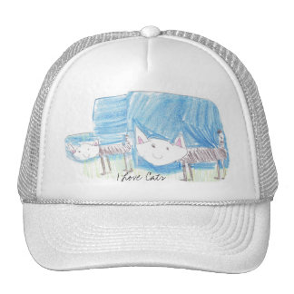 Freya's I Love Cats Hat