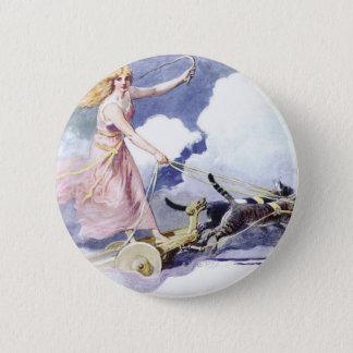 Freyja 6 Cm Round Badge