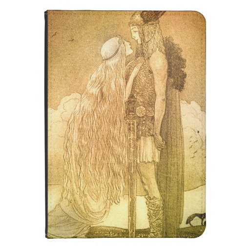 Freyja and Svipdag by John Bauer 1911 Kindle 4 Cover
