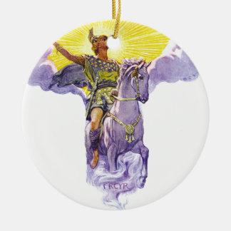 Freyr Ceramic Ornament