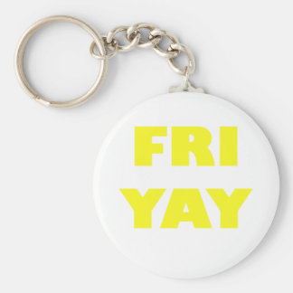 Fri Yay Key Ring