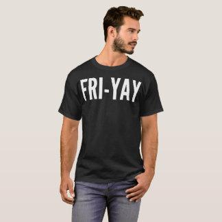 Fri-Yay Typography T-Shirt