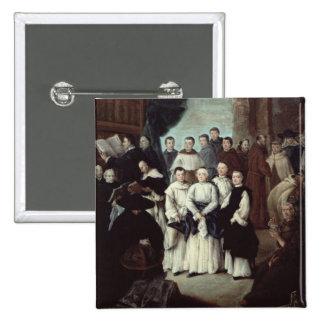Friars in Venice 15 Cm Square Badge