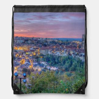 Fribourg city, Switzerland Drawstring Bag