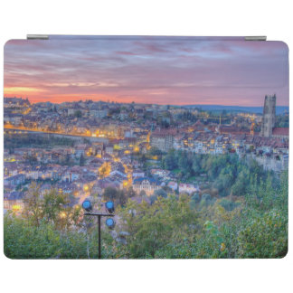 Fribourg city, Switzerland iPad Cover