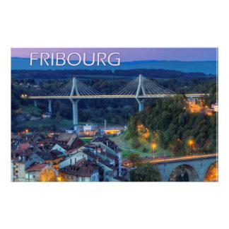 Fribourg city, Switzerland Stationery