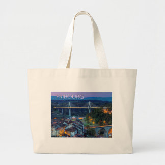 Fribourg, Switzerland Large Tote Bag