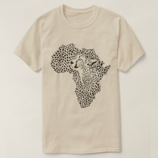 frica in a cheetah camouflage T-Shirt