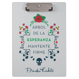 Frida Kahlo | Árbol De La Esperanza Clipboard