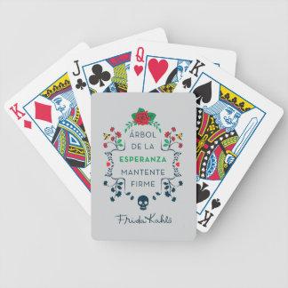 Frida Kahlo | Árbol De La Esperanza Poker Deck