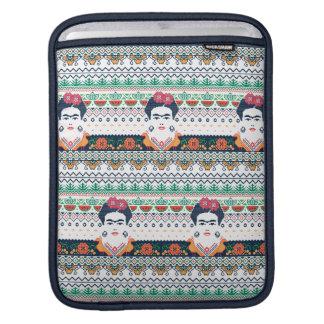 Frida Kahlo   Aztec iPad Sleeve