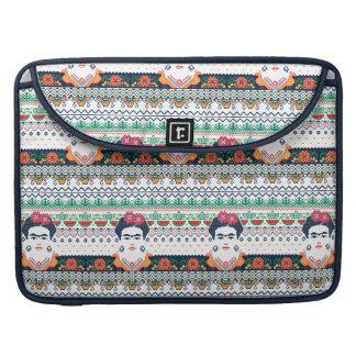 Frida Kahlo | Aztec Sleeve For MacBook Pro