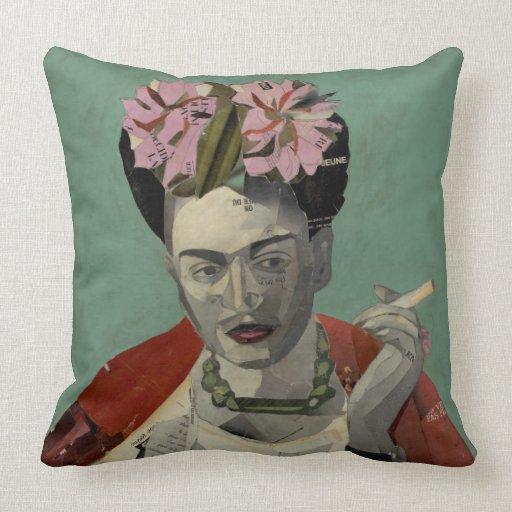 Frida Kahlo by Garcia Villegas Throw Pillow