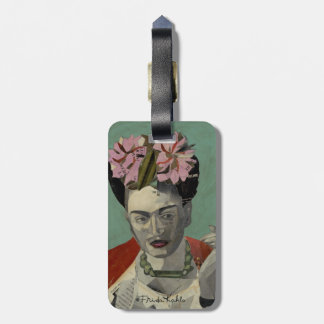 Frida Kahlo by Garcia Villegas Luggage Tag