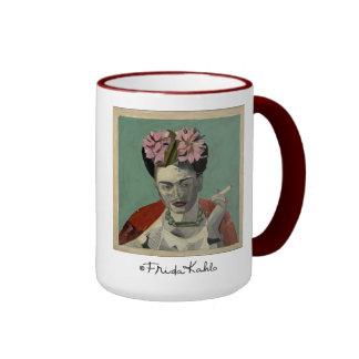 Frida Kahlo by Garcia Villegas Ringer Mug