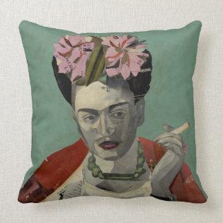 Frida Kahlo by Garcia Villegas Throw Cushions