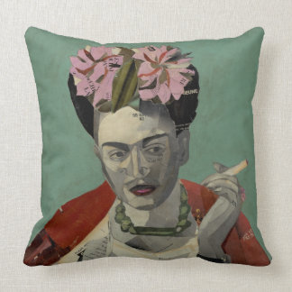 Frida Kahlo by Garcia Villegas Throw Pillow
