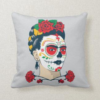 Frida Kahlo | El Día de los Muertos Cushion