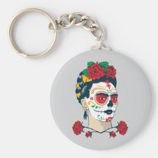 Frida Kahlo | El Día de los Muertos Key Ring