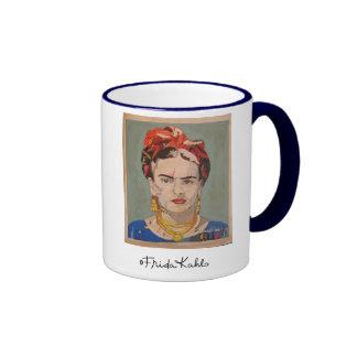 Frida Kahlo en Coyoacán Portrait Ringer Mug