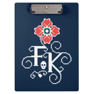 Frida Kahlo | Floral Tribute Clipboard