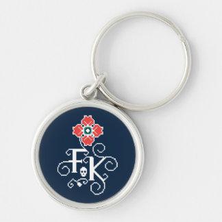 Frida Kahlo | Floral Tribute Key Ring