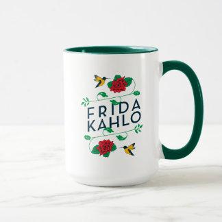 Frida Kahlo | Floral Typography Mug