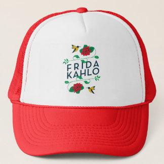 Frida Kahlo | Floral Typography Trucker Hat
