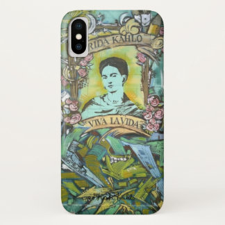 Frida Kahlo Graffiti iPhone X Case