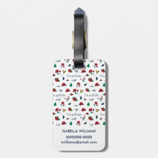 Frida Kahlo | Heart of Mexico Luggage Tag