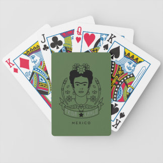 Frida Kahlo | Heroína Bicycle Playing Cards