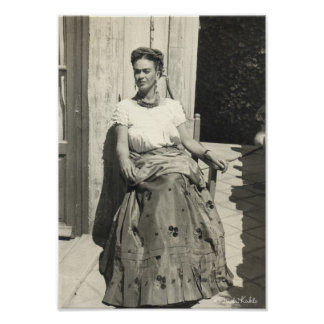 Frida Kahlo in Sun Print