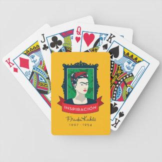 Frida Kahlo | Inspiración Bicycle Playing Cards