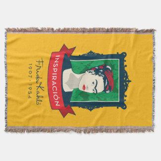 Frida Kahlo | Inspiración Throw Blanket